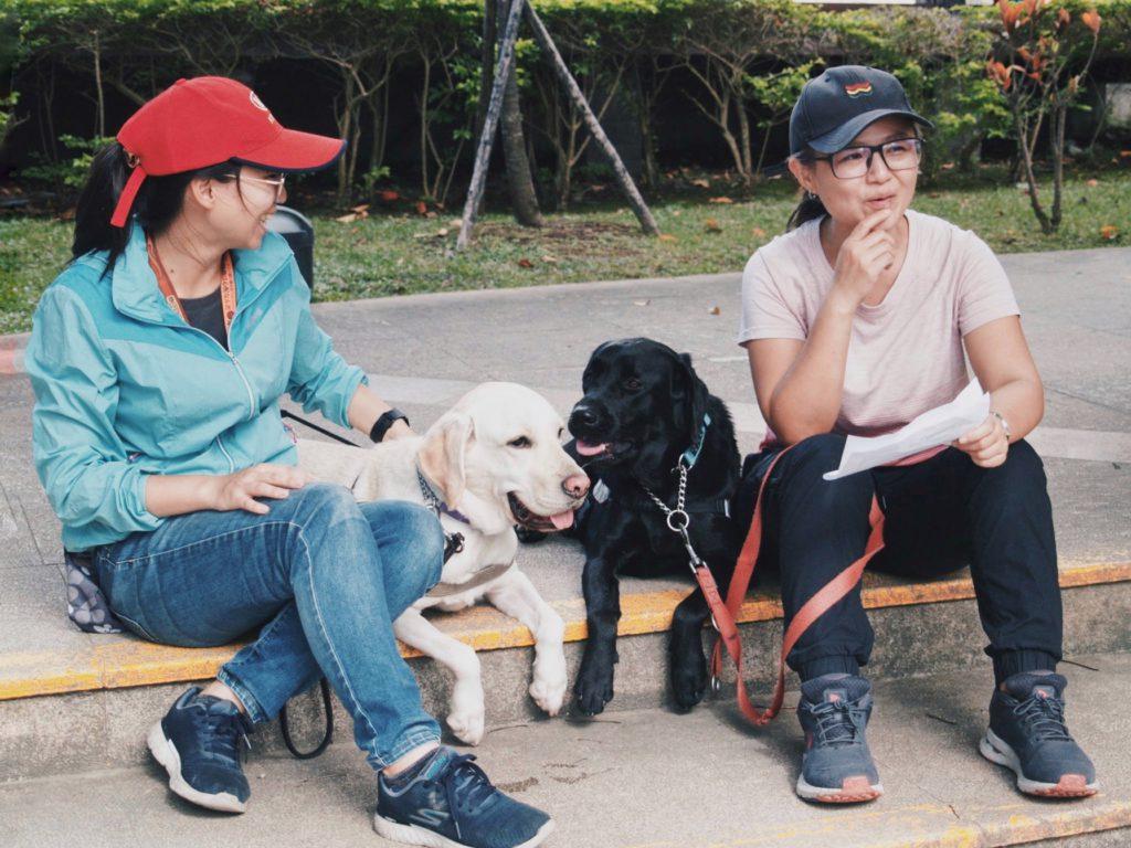 停車大聲公與導盲犬協會合作活動,響應導盲犬培訓計畫,幫助視障朋友,導盲犬訓練師需要你幫忙